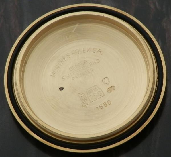 希少18金無垢シャンパンゴード青サブ★ロレックス サブマリーナ Ref.1680/8★1977年頃のサムネイル