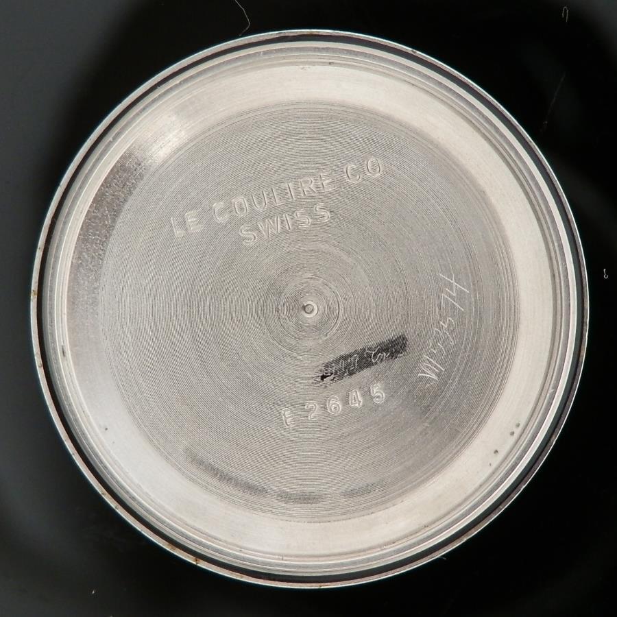激希少14金無垢シャンパンゴールド フローラルベゼル★ルクルト トリコンパックスRef.E2645★Cal.72のサムネイル