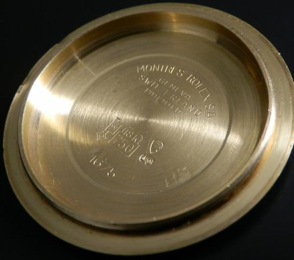 激希少フジツボ★ロレックス GMTマスターRef.1675/8★18金無垢シャンパンゴード Cal.1570のサムネイル