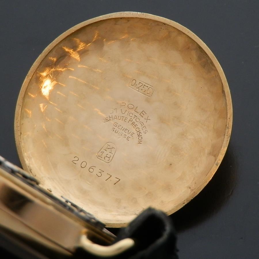 幻1929年クロノグラフ1'st★ロレックス Ref.2021 ★18金無垢シャンパンゴールド エナメル Cal.GHTのサムネイル