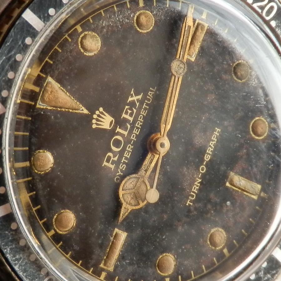 伝説ミラーダイアル&ゴールドレター針極上Ref.6202★ロレックス ターノグラフ★1953年Cal.645のサムネイル