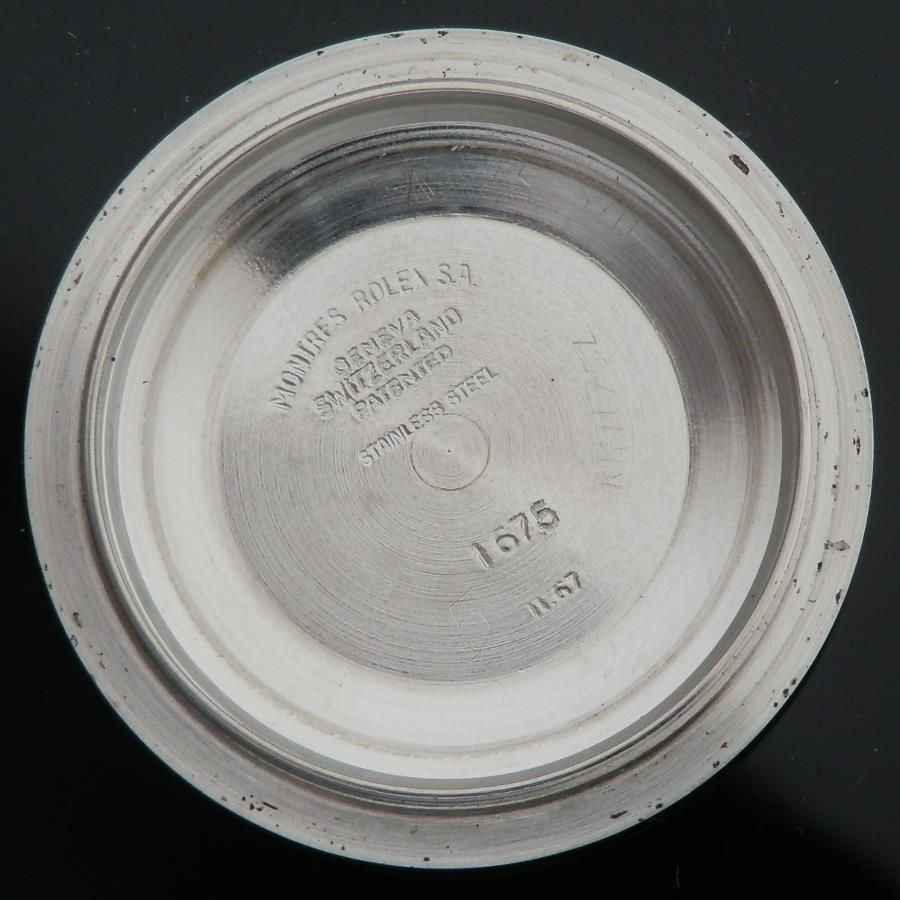 激希少フジツボ2'nd★ロレックス GMTマスター Ref.1675/3★1967年 Cal.1570 のサムネイル