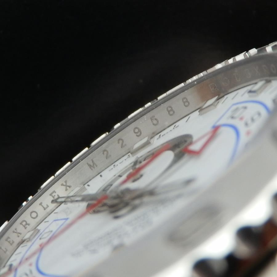 M番18金無垢ホワイトゴールド&ブラチナ無垢ベゼル★ロレックス ヨットマスターⅡ Ref.116689★付属完のサムネイル