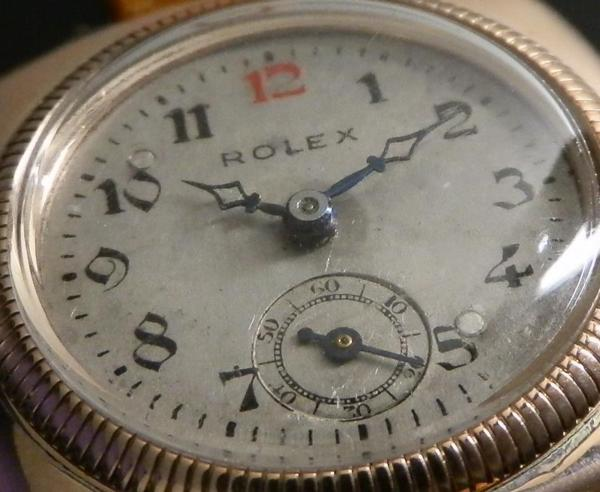 幻1928年★ロレックス オイスタークッション★9金無垢ピンクゴールド  Cal.10 1/2のサムネイル