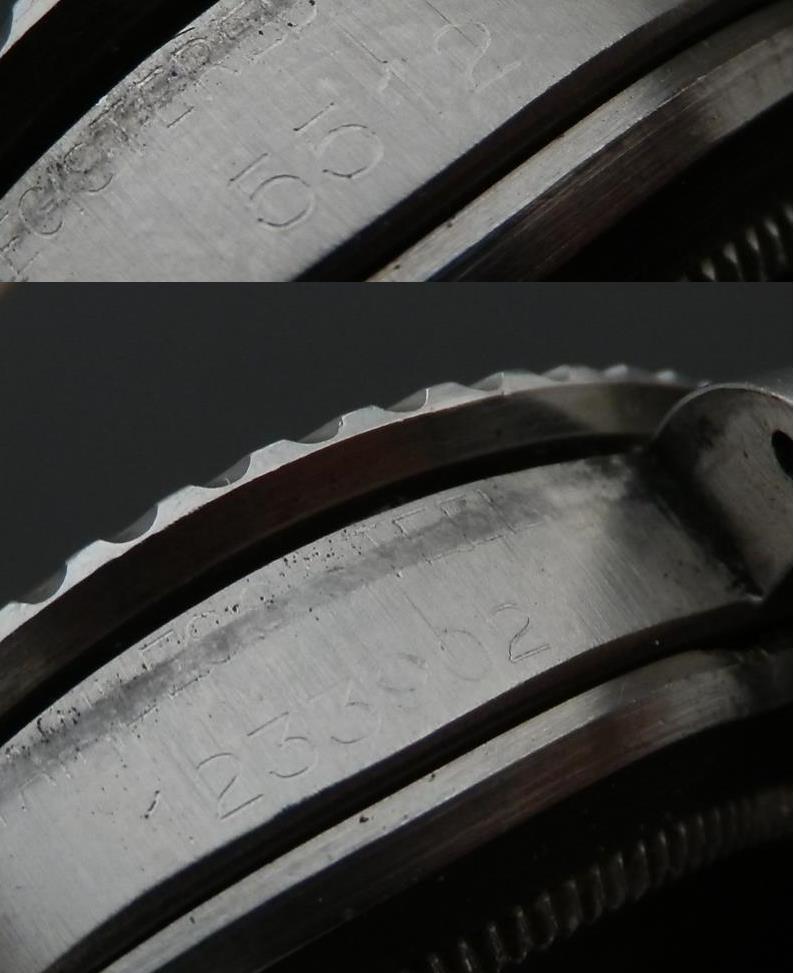 幻1965年ミラー★ロレツクス サブマリーナ Ref.5512★Cal.1560 オール純正のサムネイル