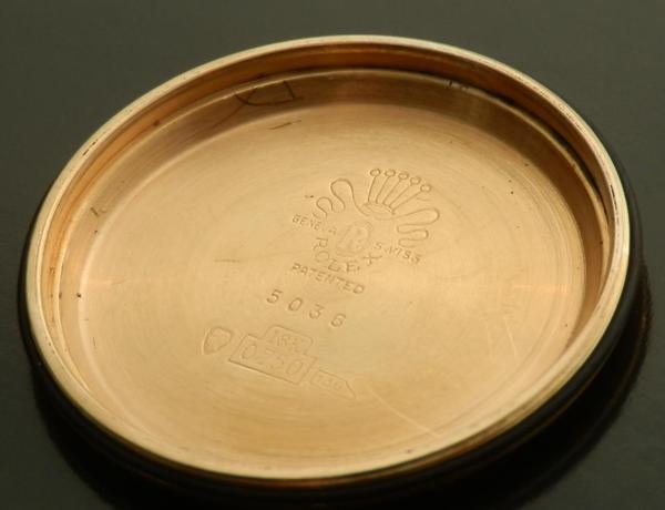 幻1949年★ロレックス ダトコンパックスRef.5036 ★18金無垢ローズゴールド Cal.72Cのサムネイル