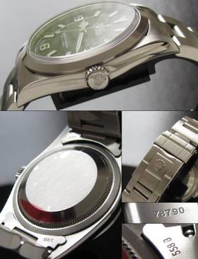 日本ロレックス オーバーホール済18ヶ月保証残★ロレックス エクスプローラー★Ref.14270のサムネイル