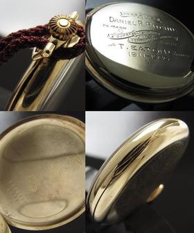 カナディアンロレックスの謎..★ロレックス イートン★14金無垢シャンパンゴールドのサムネイル