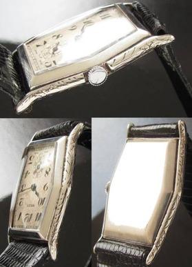 激激希少!!! 銀無垢ハンター★ロレックス★Cal.11 1/2 1920年代…彫金の美のサムネイル