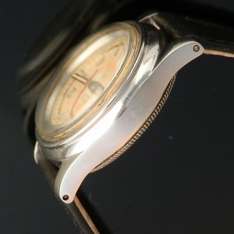 """OYSTER WATCH CO By ROLEX★STAINLESS STEEL ROUND """"OYSTER RALEIGH"""" OBSERVATORY DIAL★ステンレススティール ラウンド """"オイスター ローリー"""" オブザーバトリーダイアル Ref.3478/Cal.59のサムネイル"""