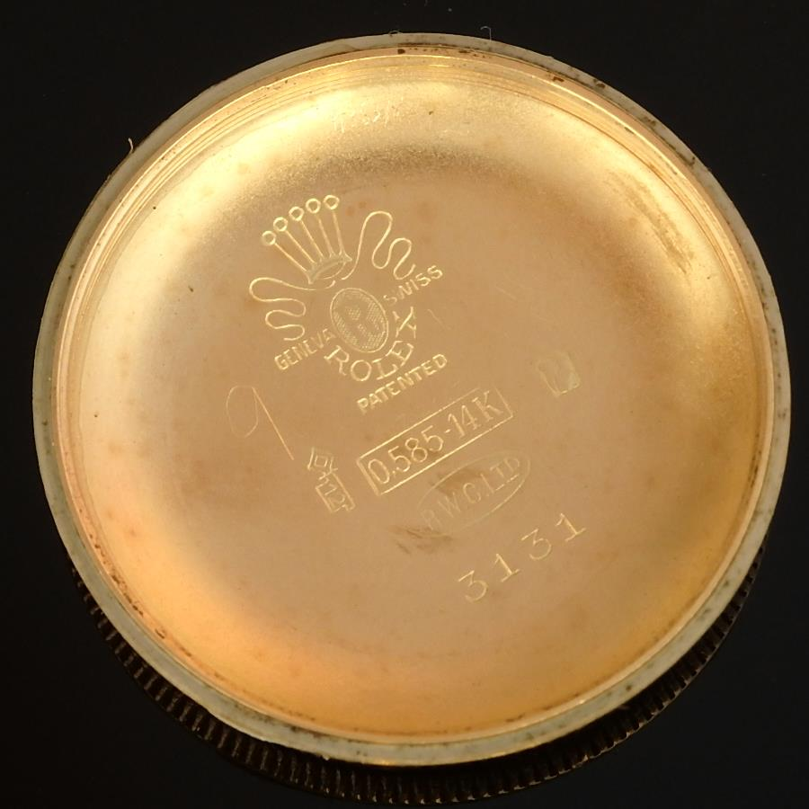 ロレックス★バブルバック★Ref.3131/Cal.620NA 14金無垢シャンパンゴールド 完全オリジナルコンディションダイアルのサムネイル