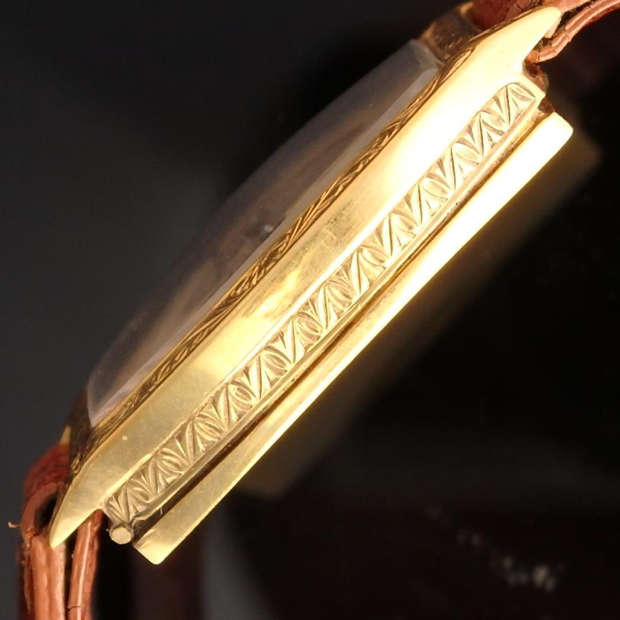 18金無垢彫金シャンパンゴールド★ロレックス トノー★1928年 Ref.6803/cal.10 1/2のサムネイル