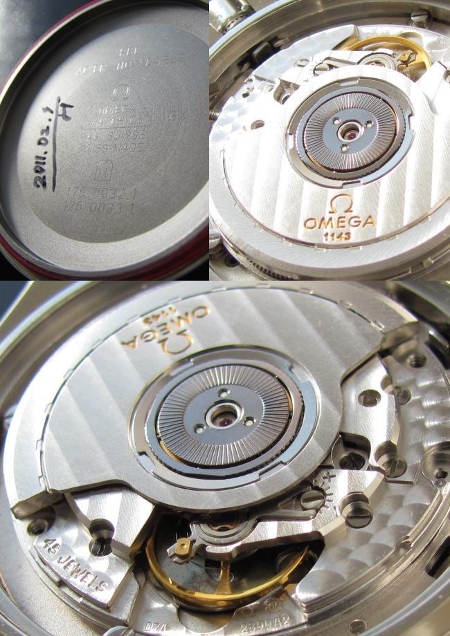 1998年限定モデル オメガ★スピードマスター★クロノグラフCal.1143のサムネイル