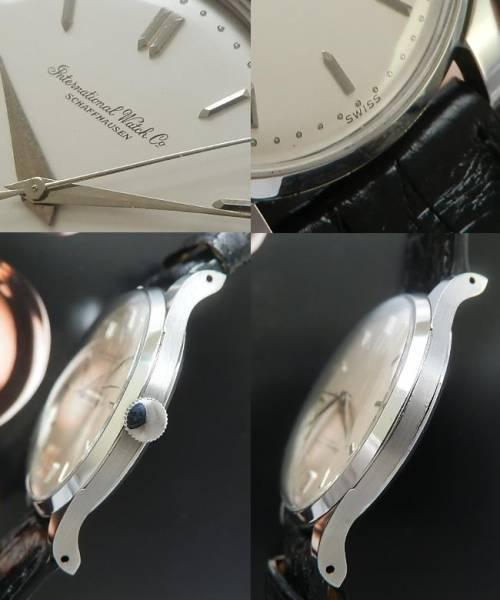 デッドストック級美品☆1958年★IWC オールドインター★Cal.89 ステンレススティールのサムネイル
