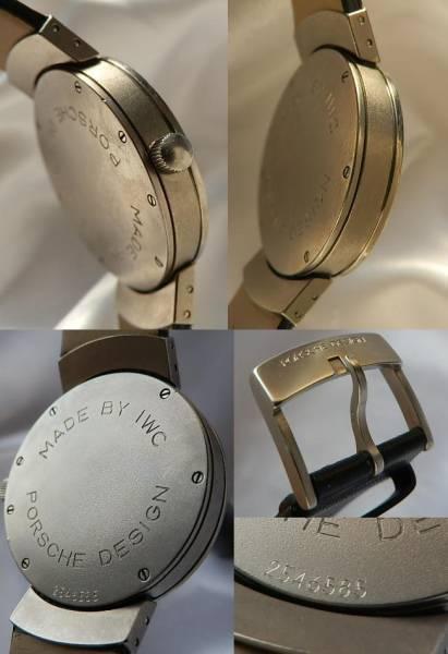極上美品Ref.3520 チタニウム★ポルシェ デザインBy IWC★Cal.37524のサムネイル