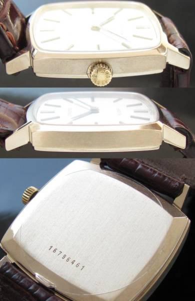 激希少18金無垢ホワイトゴールド★ロンジン フラッグシップ★Ref.408-1428☆Cal.428のサムネイル