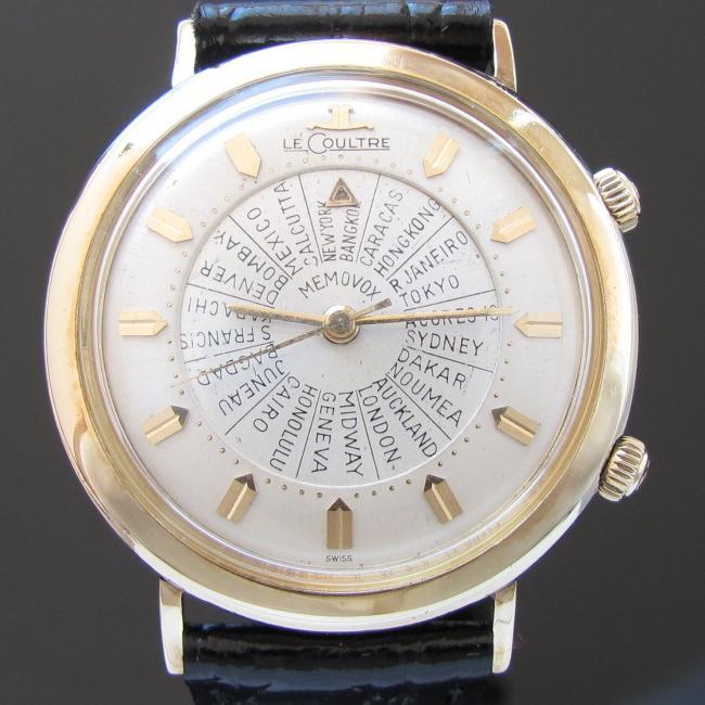 Ref.3041/1960年モデル★ルクルト★ワールドタイム メモボックス Cal.814のサムネイル