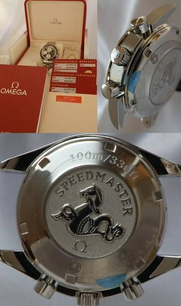 2006年モデル極上★オメガ スピードマスターRef.32105100★Cal.1164 手巻きクロノグラフのサムネイル