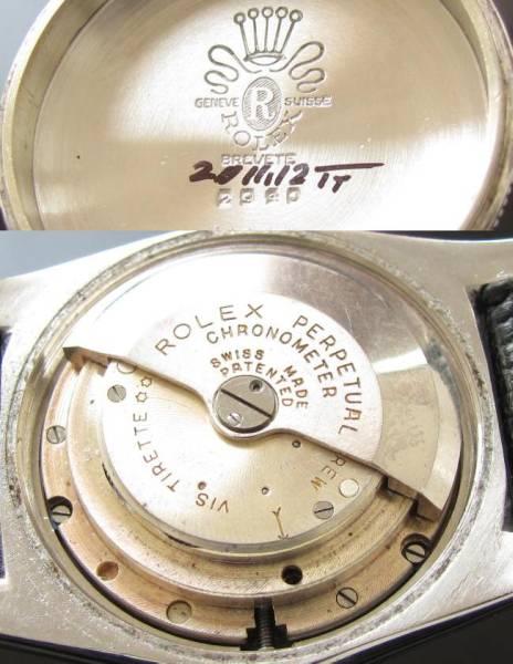 激希少!!!1946年頃★ロレックス オイスターパーペチュアル バブルバック Ref.2940★Cal.630NAのサムネイル