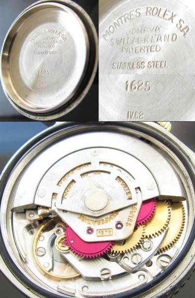 1968年2代目サンダーバード★ロレックス デイトジャスト★Ref.1625/Cal.1570 14金無垢/ステンレススティールのサムネイル