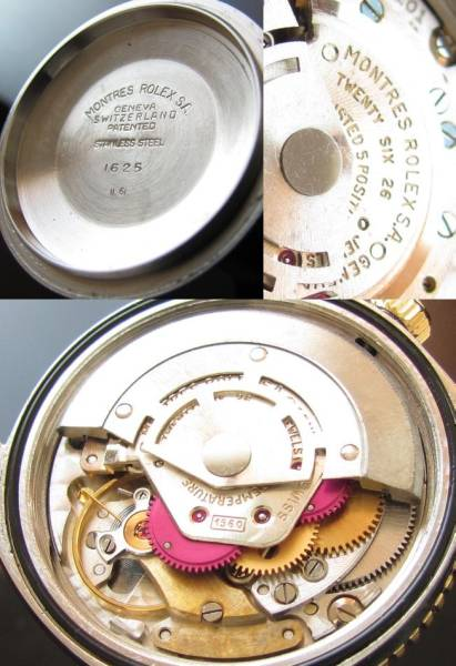 2代目サンダーバード Ref.1625★ロレックス デイトジャスト★1961年製 14金無垢/ステンレススティールのサムネイル
