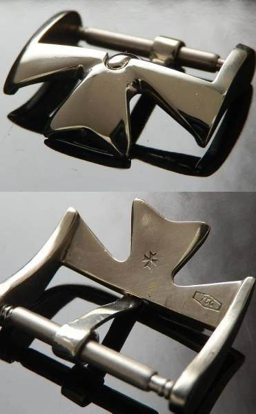 18金無垢ホワイトゴールド尾錠★ヴァシュロン・コンスタンタン★マルタ十字のサムネイル