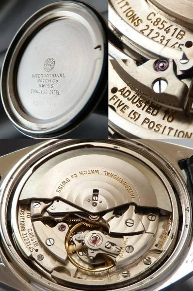 激激レア高級5姿勢差調整機 Cal.8541B★IWC ヨットクラブ★1973年 ステンレススティールのサムネイル