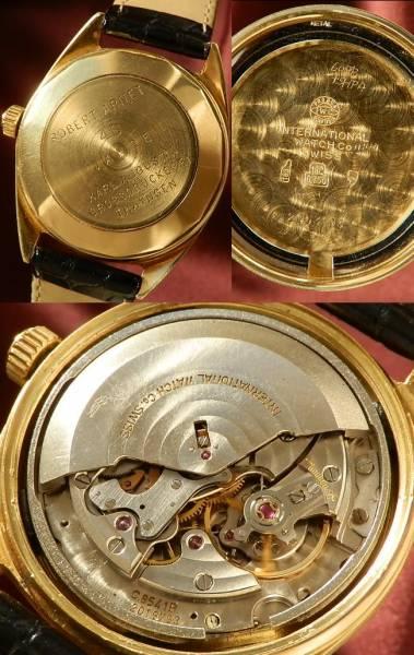 1970年製造☆18金無垢シャンパンゴールド★IWC ヨットクラブ★Cal.8541B☆極上品のサムネイル