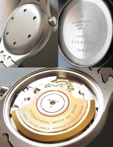 超美品☆チタニウム★ポルシェデザイン by IWC★オーシャン500 Ref.3502 Cal.3752のサムネイル