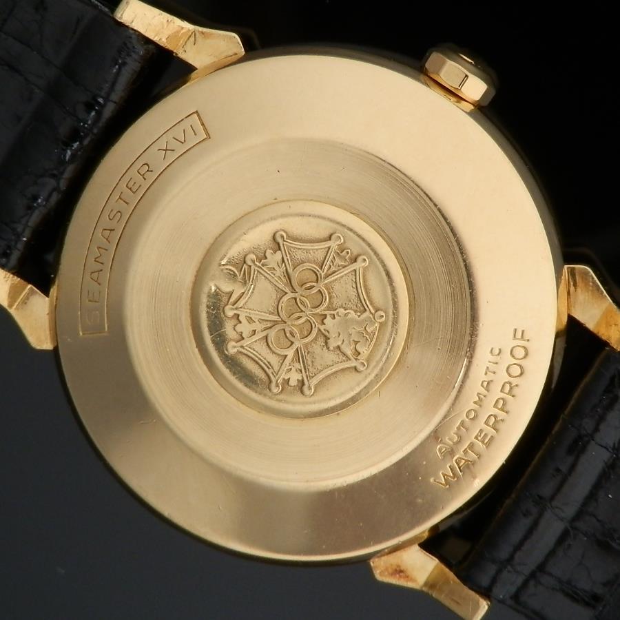 第十六回 メルボルン オリンピック 限定1956年★シーマスターXVI Ref.OT2850★18金無垢シャンパンゴールド Cal.471のサムネイル