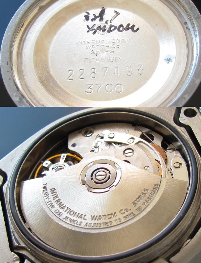 IWC★ポルシェデザイン★Ref.3700 Cal.790 チタニウムのサムネイル