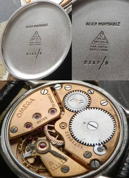 30mmキャリバー最高の響き..★Ωオメガ★ラウンドケース スモールセコンド 1940年代…Cal.30T2のサムネイル