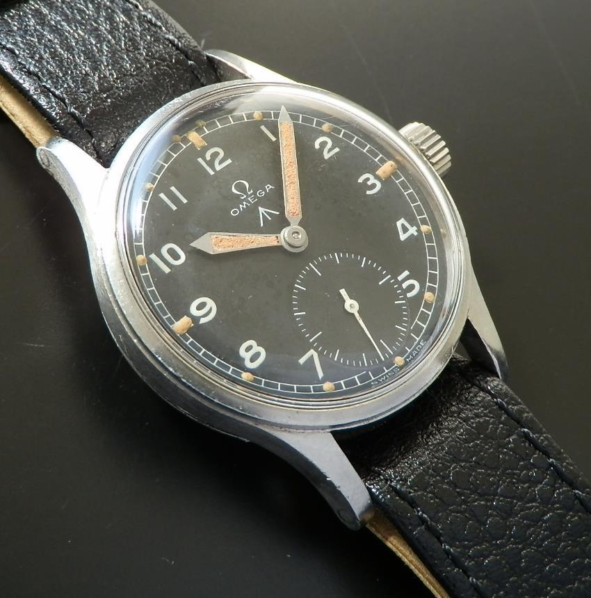 激希少☆イギリス陸軍官給腕時計★オメガ★ブロードアロー/W.W.W (WATERPROOF WRIST WATCH) Cal.30T2のサムネイル