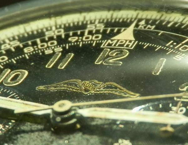 """激希少ナビタイマーファーストモデル★ブライトリングRef.806 飛行士協会""""AOPA""""公式モデル★ミラーブラック Cal.178のサムネイル"""
