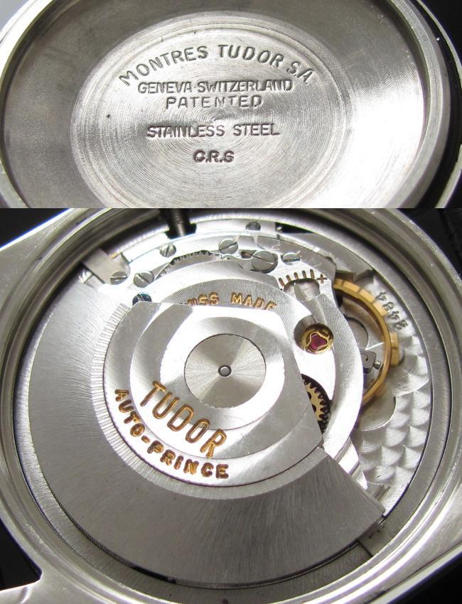 1960年代 チュードル★プリンスオイスターデイト★Cal.2884 ラウンドケース ステンレススティールのサムネイル