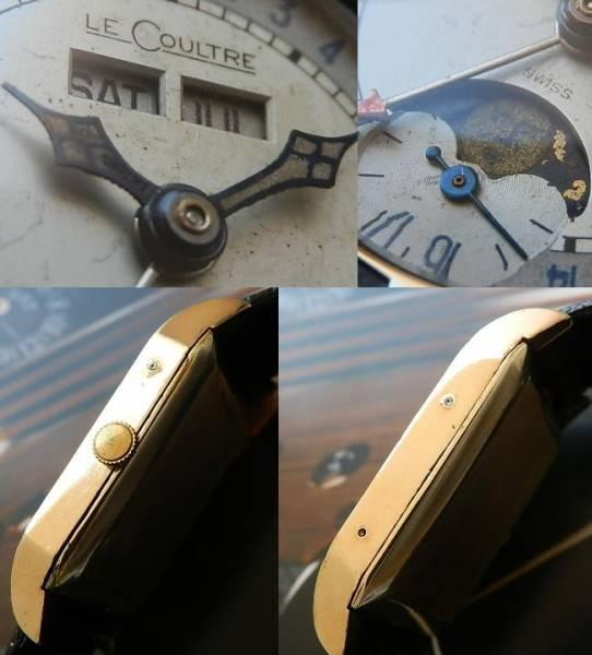 伝説1949年限定オマージュ★ルクルト トリプルカレンダー&月齢★角型ラウンドダイアル Cal.806/AWのサムネイル