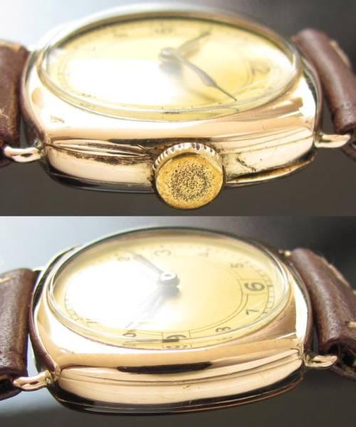 激激希少1920年代クッションケース★Ωオメガ★18金無垢ローズゴールド 手巻きムーブメントのサムネイル