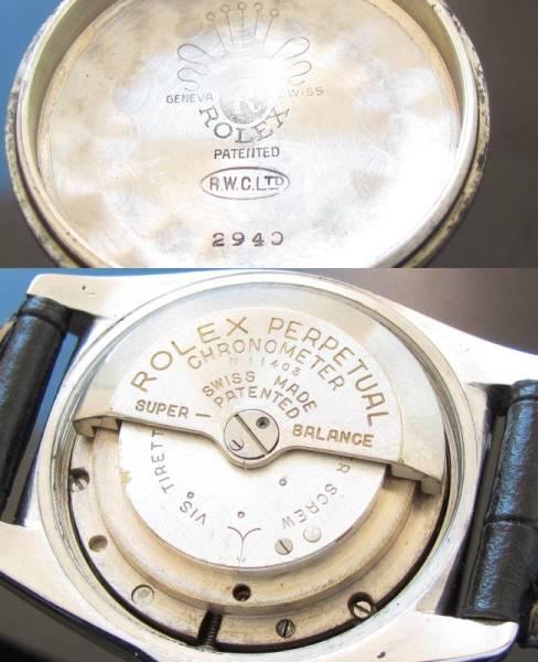 5代目バブルバックRef.2940★ロレックス★Cal.630NA 1945年頃製造のサムネイル