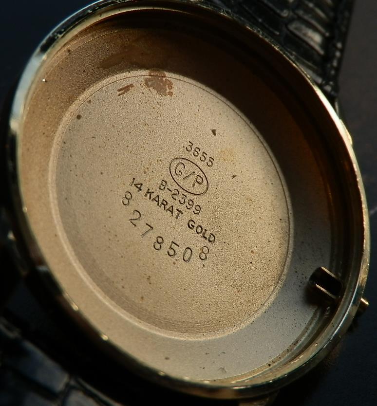 激希少14金無垢シャンパンゴールド★ジラール・ペルゴ シーホーク★ノスコカンパニー25周年 Ref.3655-B2399 Cal.131-204のサムネイル