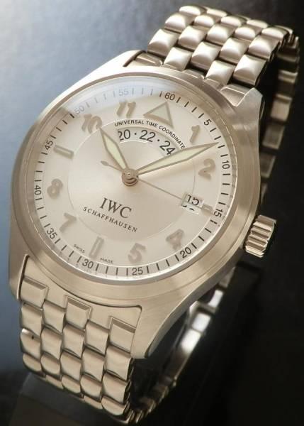 極上付属完備★IWC スピットファイア- UTC★フリーガー Ref.IW325108 ステンレススティール Cal.30710のサムネイル