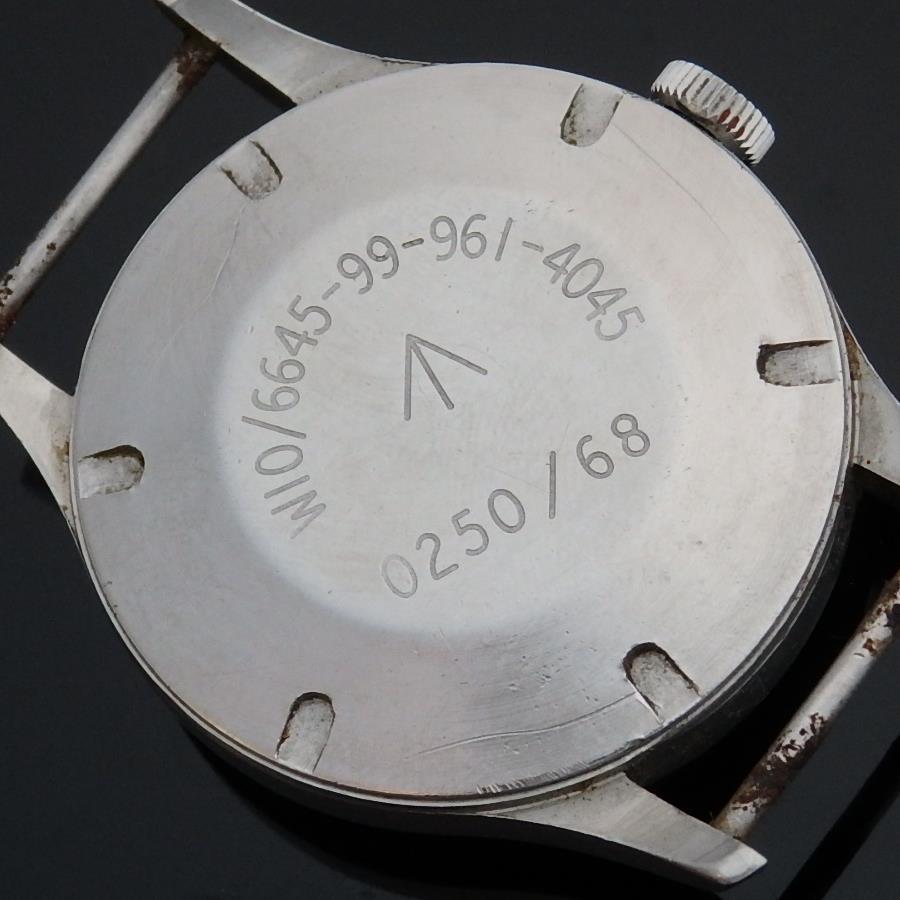 1968年イギリス公式軍用エアフォース★スミス ウオッチW10★ブロードアロー Cal.60466Eのサムネイル