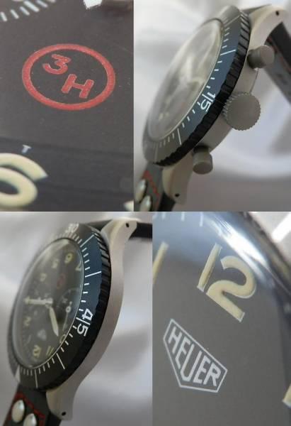 伝説1969年ドイツ軍用官給品★ホイヤー Ref.TKZ1550/Cal.230フライバック クロノグラフのサムネイル
