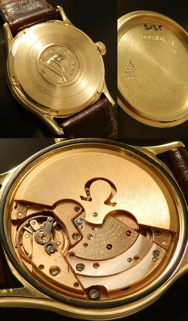 デッドストック級★オメガ コンステレーション Cal.1001★18金無垢シャンパンゴールド カラトラバ Ref.166052のサムネイル