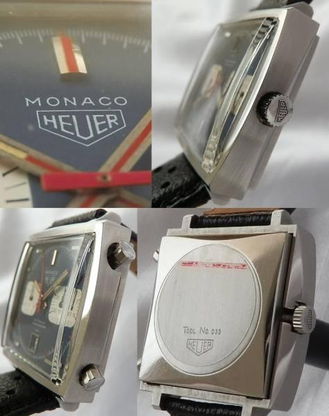 幻…モナコ ファーストモデル1969年★ホイヤー Ref.1133★Cal.11 オートマティッククロノグラフのサムネイル