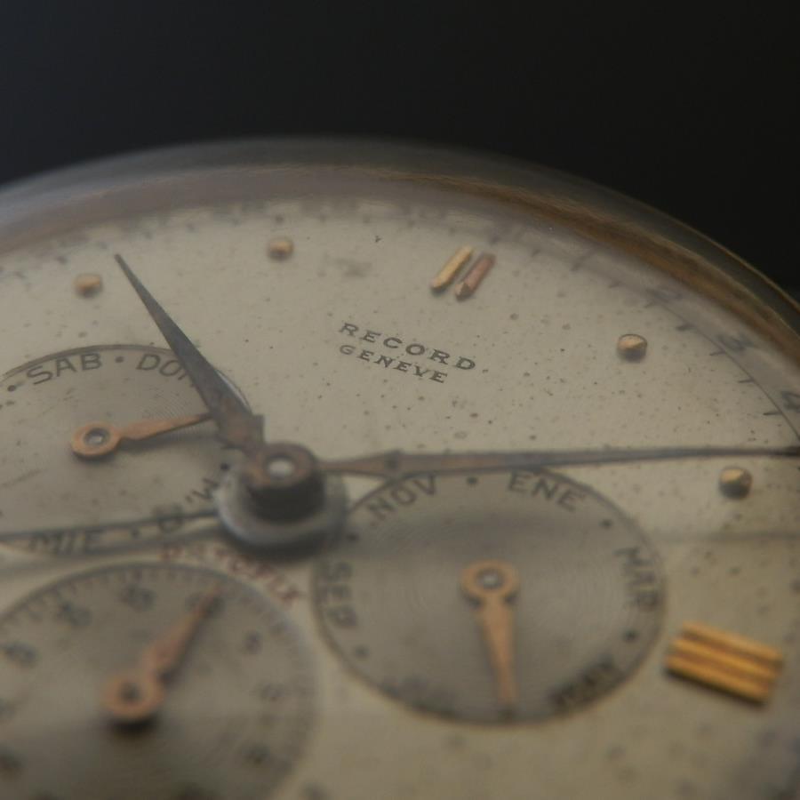 伝説Cal.106トリプルカレンダー★レコード ダトフィックス★Ref.1121 18金無垢ローズゴールドのサムネイル