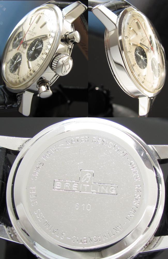 激希少極上美品★ブライトリング トップタイム最上級モデル★Ref.810/Cal.178 スナップバックケースのサムネイル