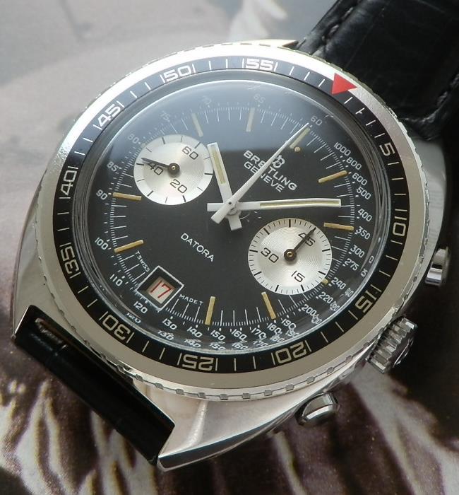 ほぼデッドストック級★ブライトリング ダトラ Ref.2034/3★1970年代 Cal.7734のサムネイル