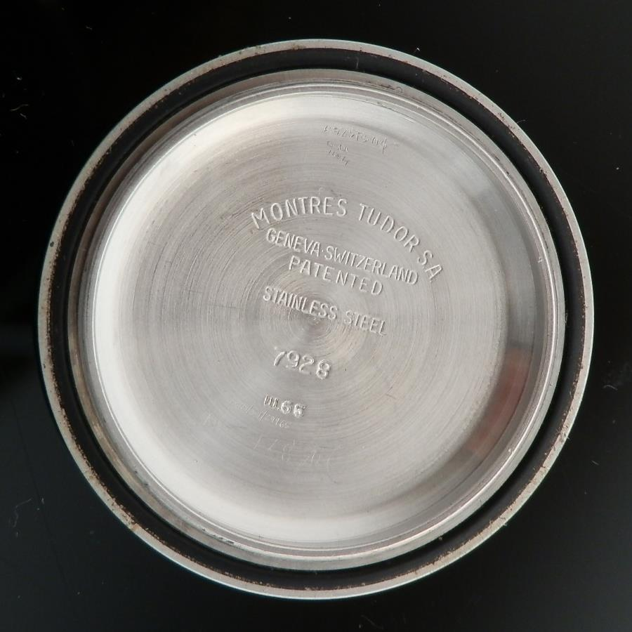激激希少ミラー&シルバー ダイアル★チュードル オイスターパープリンス サブマリーナ Ref.7928★1965年 Cal.390のサムネイル