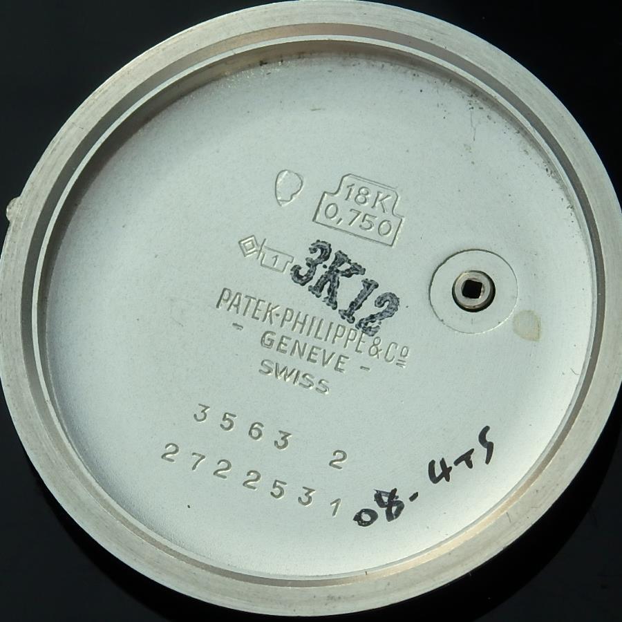 18金無垢ホワイトゴールド彫金ブレス★パテック フィリップ カラトラバ★3563 – 2 Cal.350のサムネイル