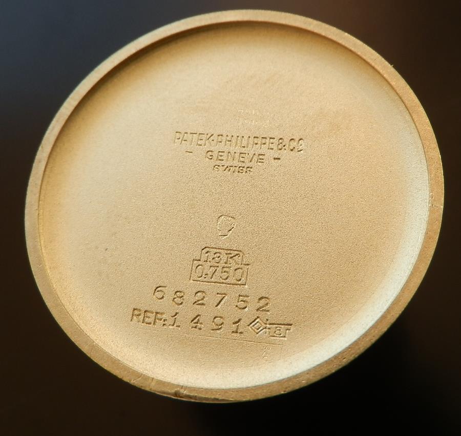 激希少スクロールラグ 18金無垢シャンパンゴールド★パテック フィリップ Ref.1491★Cal.27SCのサムネイル